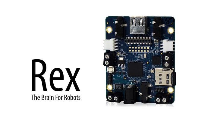 Rex ARM-Powered Robot Controller Board