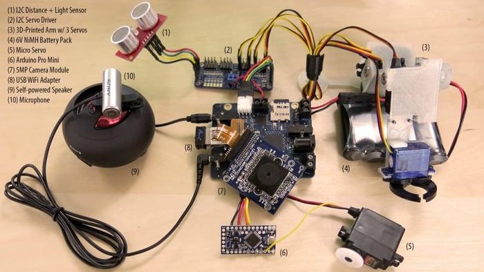 Rex robot controller board