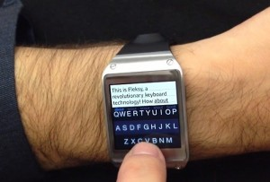 Fleksy Keyboard App Arrives On Samsung Galaxy Gear Smartwatch (video)