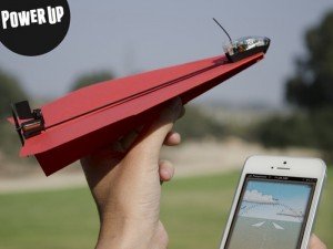PowerUp 3.0 Smartphone Controlled Paper Airplane Passes $1 Million In Funding (video)