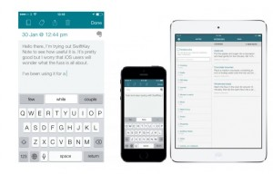 SwiftKey Note Smart Keyboard iOS App Launches With Advanced Word Prediction