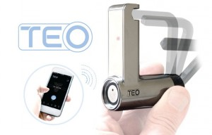 Bluetooth TEO Padlock Is Controlled Via Your Smartphone (video)