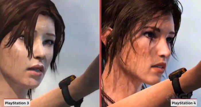 Tomb Raider Definitive Edition PS4 vs PS3
