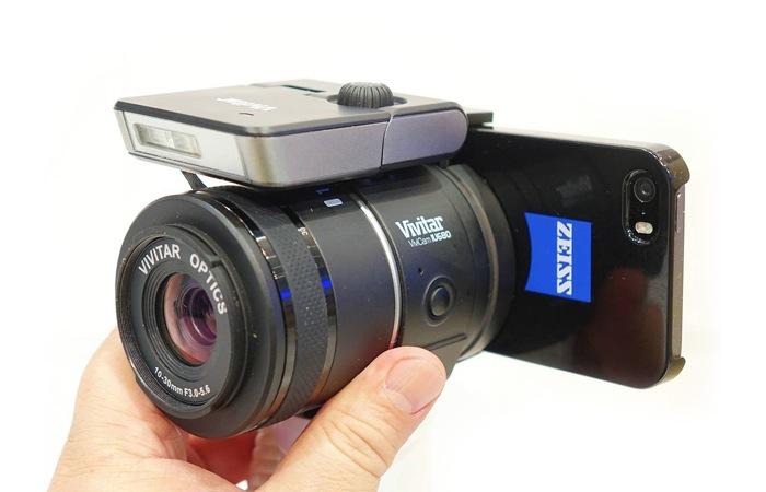 Vivitar Interchangeable Lens Smartphone System