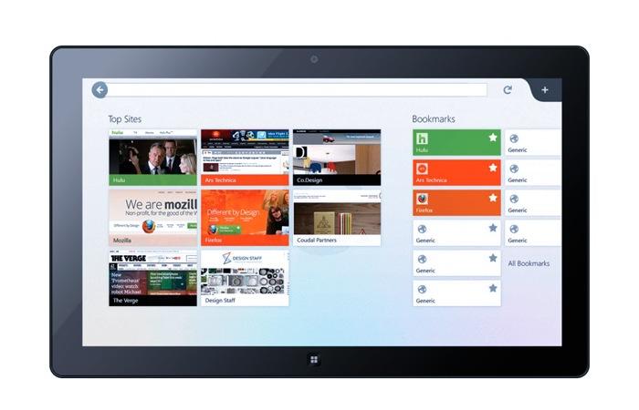 Windows 8 Firefox App