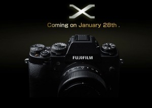 New Fujifilm X-Mount Camera Teased, Launching Jan 28th 2014