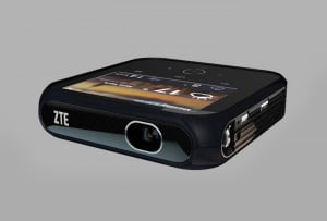 ZTE Android Projector Hotspot Unveiled Offering 1080p And LTE