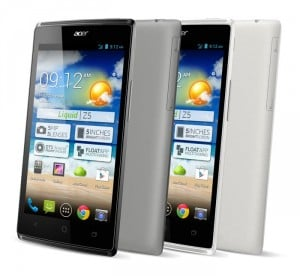 Acer Liquid Z5 Android Smartphone Announced
