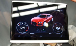 Audi Android In Car Tablet Revealed