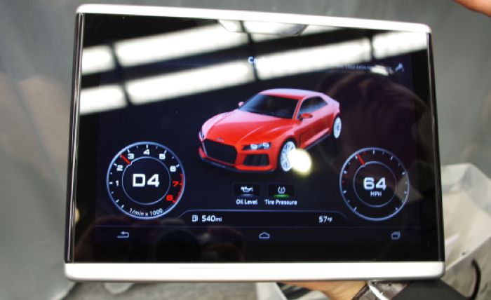 Audi Android In Car Tablet