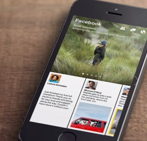 Facebook Paper News Reading App Announced (Video)