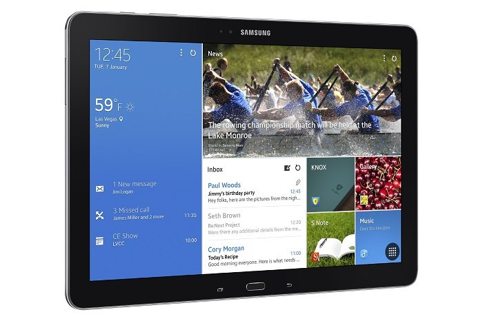 Samsung Galaxy NotePro (SM-P905V) With Verizon LTE Support Passes FCC