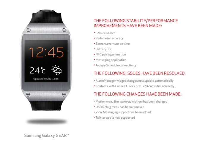 verizon galaxy gear