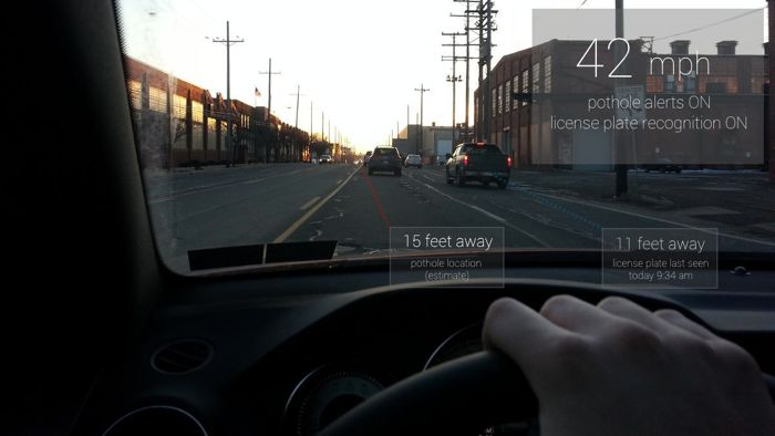Google Glass While Driving