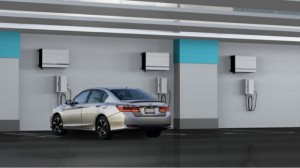 Honda Announces New Solar Powered EV Charger