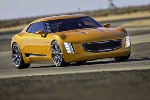 Kia GT4 Stinger Concept Car Unveiled