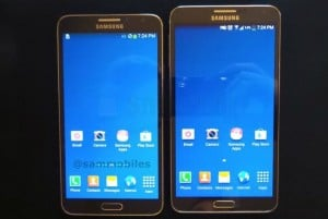 Samsung Galaxy Note 3 Neo Poses For The Camera