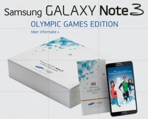 Samsung Galaxy Note 3 Olympic Games Edition Announced