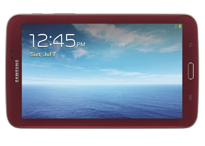 Garnet Red Samsung Galaxy Tab 3 7.0 Launched In The US