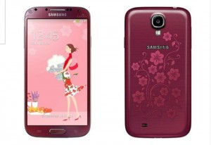 Red Samsung Galaxy S4 La Fleur unveiled, white version may arrive in March