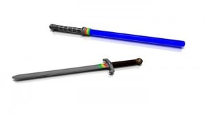 Saberetron Swords Keep Score during Your Light Saber Duels