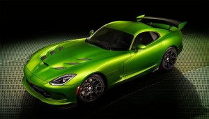 SRT Debuts New Stryker Green Color and Grand Touring Pack for 2014 Viper