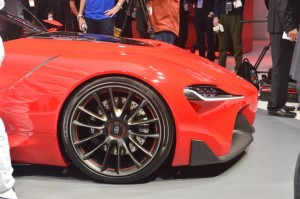 Toyota FT-1 Concept Poses For The Camera