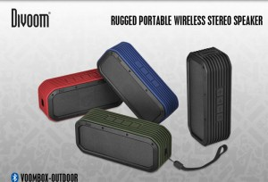 Divoom Voombox-Outdoor Bluetooth Speaker Debuts