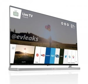 LG's webOS For Smart TVs Leaked