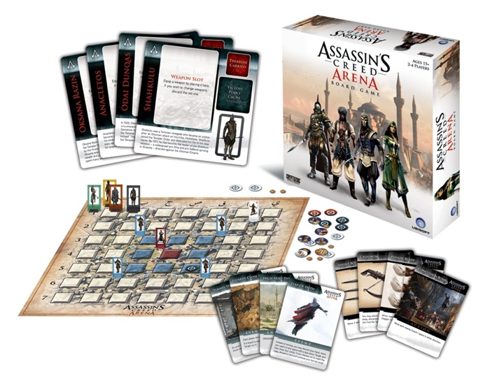 Assassins Creed Arena Board Game-1