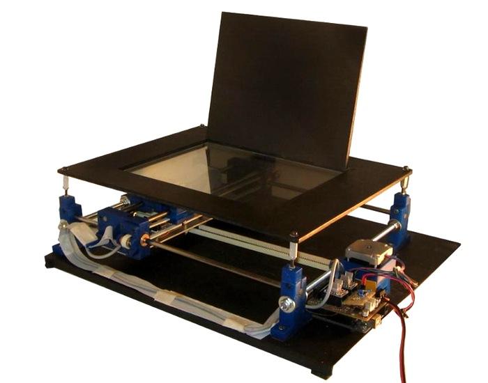 DIY laser PCB printer