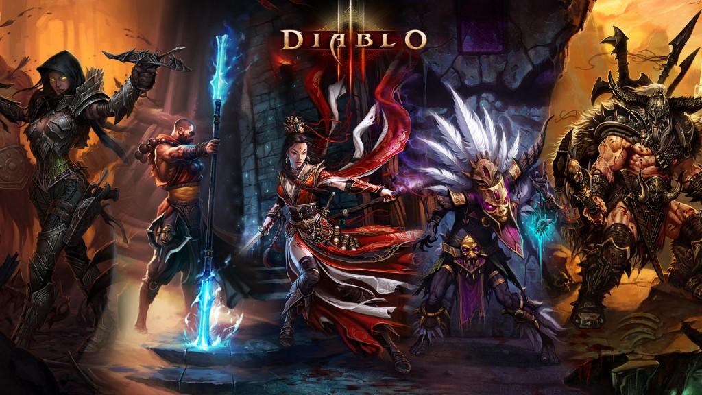 Diablo III Chars