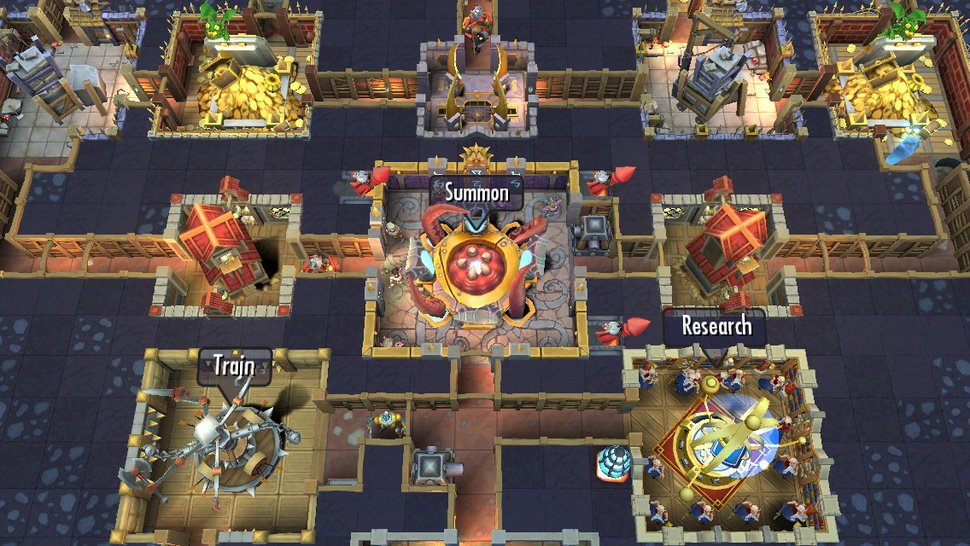 Dungeon Keeper EA