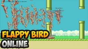 Flappy Bird, the MMO!