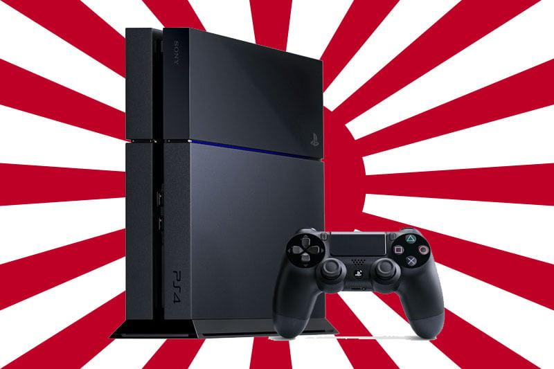 Japan gets PS4