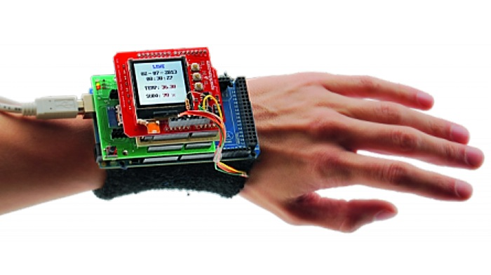 LEWE Open Source Biometric Wristband