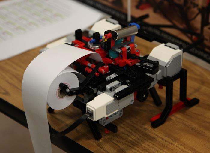 Lego Braille Printer