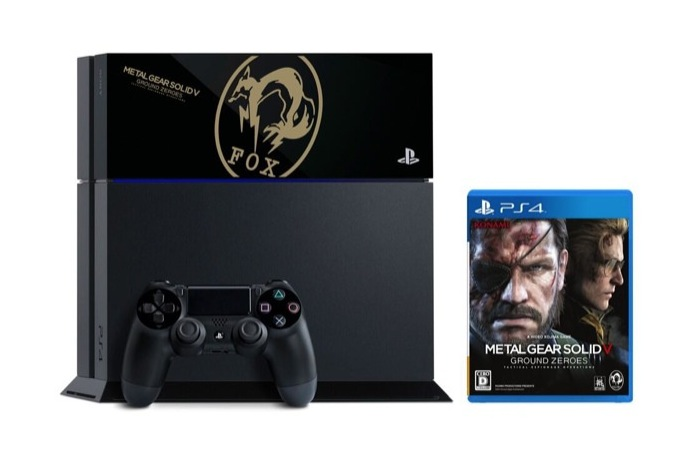 Metal Gear Solid V Ground Zeroes PS4 Console