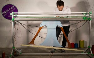 OpenKnit Printing System Allows You To Create Your Own Clothes (video)