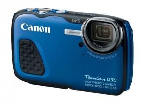 Canon PowerShot D30 Is Waterproof To Depths Of 25m