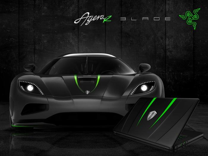 Razer Koenigsegg Blade laptop