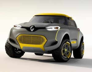 Renault Kwid Concept Car Has Its Own Drone To Check The Road Ahead (video)