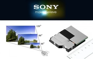 New Sony Pico Projector Offers Focus-Free Viewing Using Laser Scanning Technology