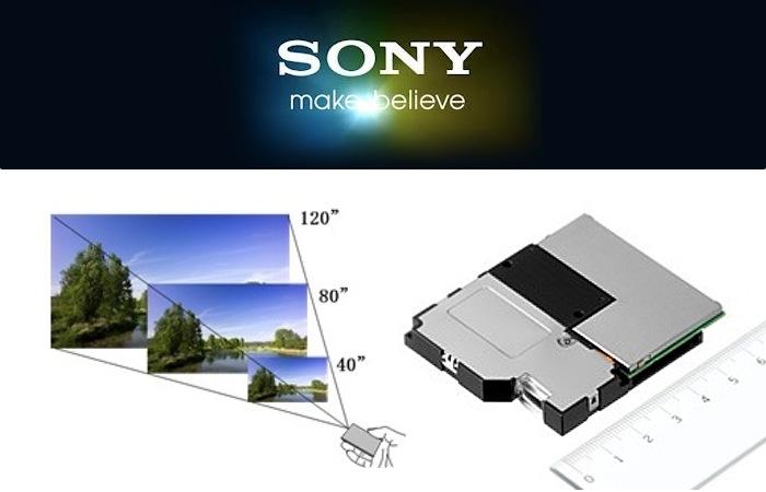 Sony Laser Pico Projector