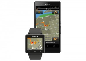 Sony SmartWatch 2 Garmin Navigation App Officially Unveiled