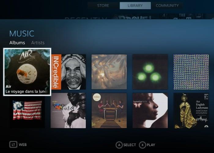 Steam Music