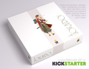 TOKAIDO Collectors Edition Board Game Launches On Kickstarter (video)