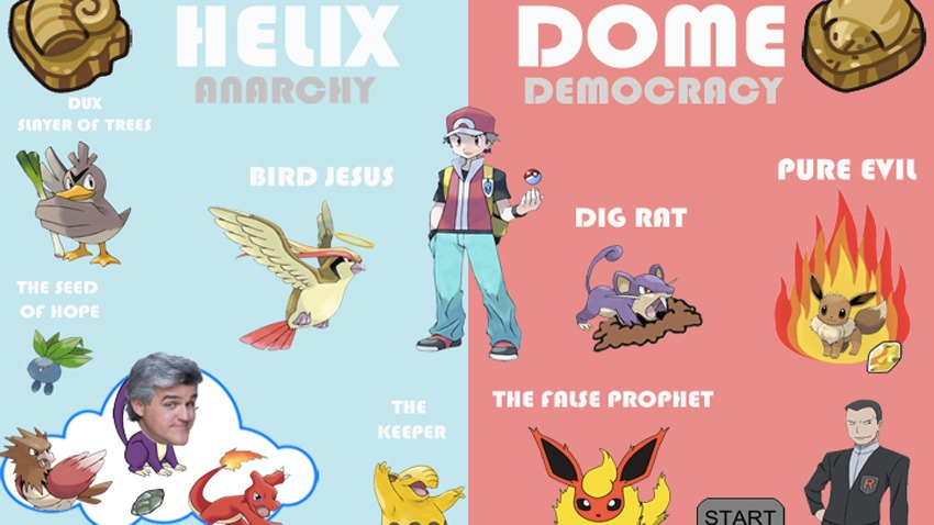 Twitch Plays Pokemon religions