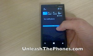 Windows Phone 8.1 Action Center Demonstrated (Video)