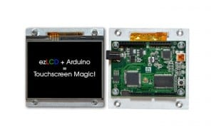 arLCD Arduino Touchscreen Display Available For $89